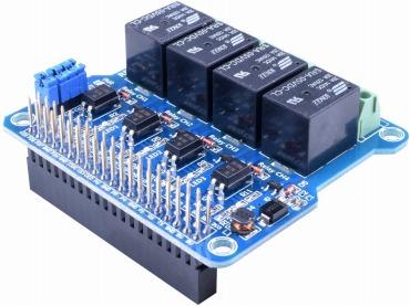 Raspberry Pi用電源リレーボード