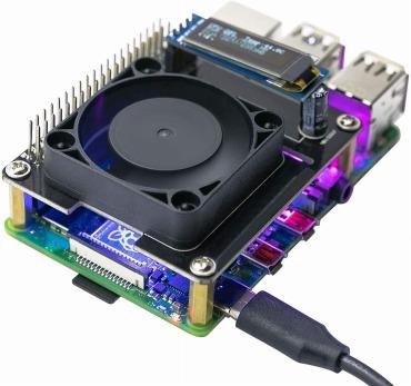 Raspberry Pi 4B 自動冷却ファン