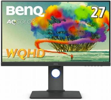 BenQ AQCOLORシリーズ 27型デザイナー向けモニター PD2705Q