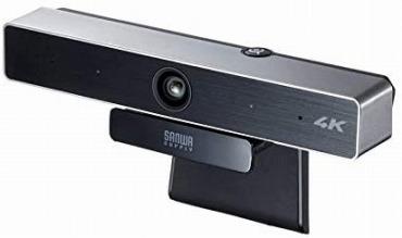 サンワサプライ CMS-V52S ウェブカメラ 4K 広角
