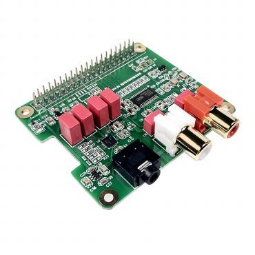 Raspberry Pi ハイエンド Hi-Fi Sound Card
