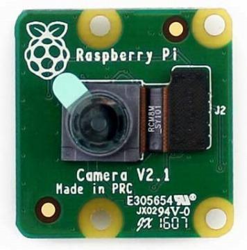 Piカメラモジュール megapixelセンサー ラズパイ公式