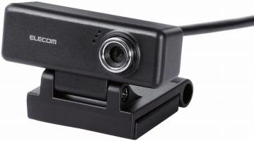 MacOS 10.12 Sierra 以降対応 エレコム WEBカメラ UCAM-C520FBBK