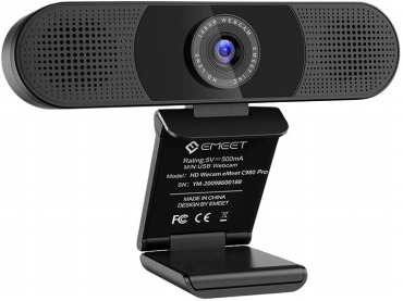 eMeet C980pro ウェブカメラ 1080P