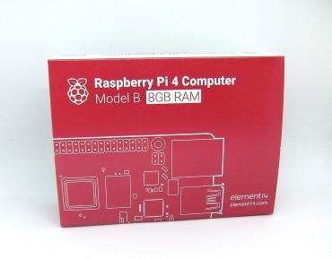 正規代理店商品 Raspberry Pi 4 Model B (8GB) made in UK element14製 技適マーク入