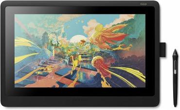 ワコム 液タブ 液晶ペンタブレット Wacom Cintiq 16 FHD ブラック DTK1660K1D