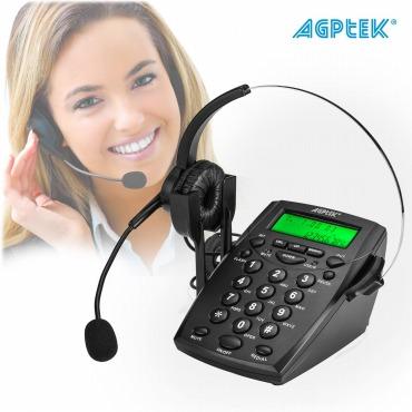 電話 コールセンター電話機 ダイヤルセット ヘッドセット付き