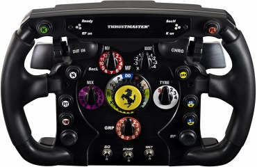 Thrustmaster ステアリングコントローラー Ferrari F1 Wheel Add-On KB343 4160571