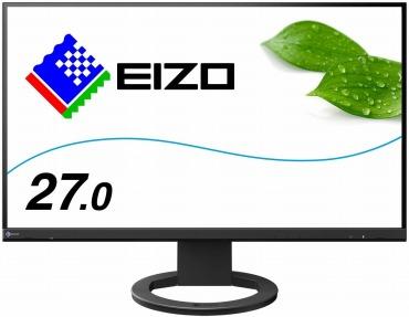 EIZO 27.0型フレームレスモニターFlexScan EV2760-BK