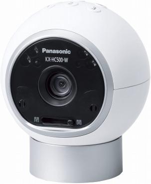 パナソニック ネットワークカメラ スマ@ホーム おはなしカメラ KX-HC500-W