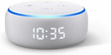 Echo Dot (エコードット)第3世代 - スマートスピーカー時計付き