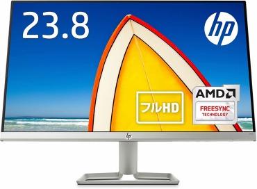 HP モニター 23.8イン チ ディスプレイ フルHD 非光沢IPSパネル 高視野角 超薄型 省スペース スリムベゼル HP 24f
