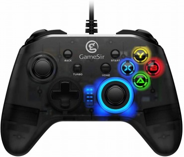 GameSir T4w 有線コントローラー PC対応 Steam ゲーム対応 連射