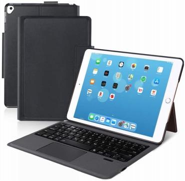 Ewin 新型 iPad キーボード ケース タッチパッド付き