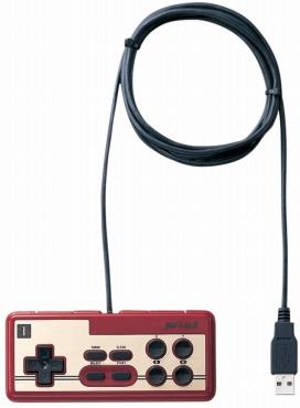 iBUFFALO USB接続 8ボタンゲームパッド デジタル 連射機能付 ファミコン風