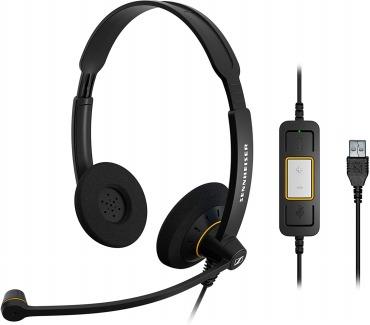 ゼンハイザー SC 60 USB ML 両耳USBヘッドセット