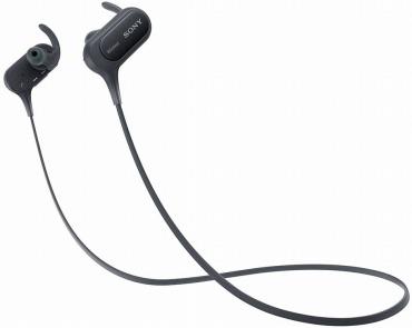 ソニー ワイヤレスイヤホン MDR-XB50BS : 防滴/スポーツ向け Bluetooth対応 マイク付き