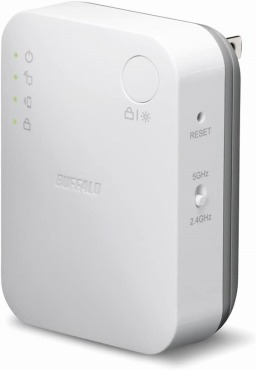 BUFFALO WiFi 無線LAN 中継機 WEX-733DHP
