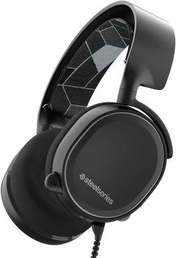 SteelSeries Arctis 3 Black 61433 ゲーミングヘッドセット ノイズキャンセリングマイク