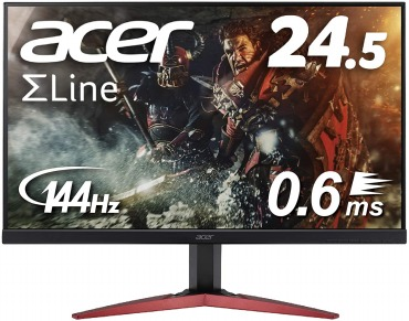 Acer ゲーミングモニター KG251QHbmidpx