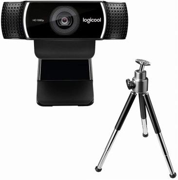 ロジクール ウェブカメラ C922 三脚付き