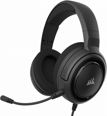 Corsair ゲーミングヘッドセット HS35 STEREO Stereo Gaming Headset -Carbon- PC PS4 Switch  SP864 CA-9011195-AP