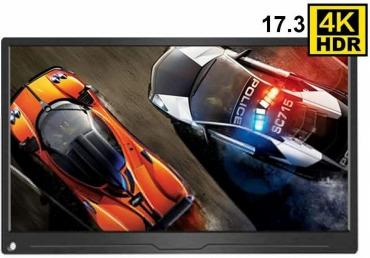 17.3インチ 4K モバイルモニター PS4/xbox360 対応
