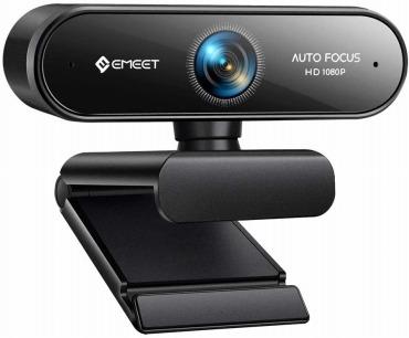 eMeet NOVA WEBカメラ 200万画素 フルHD 78°広角