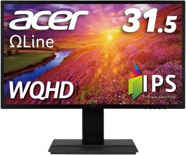 Acer モニター OmegaLine 31.5インチ WQHD EB321HQUDbmidphx