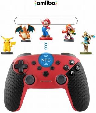 NFC機能とジャイロセンサー搭載 スイッチ コントローラー