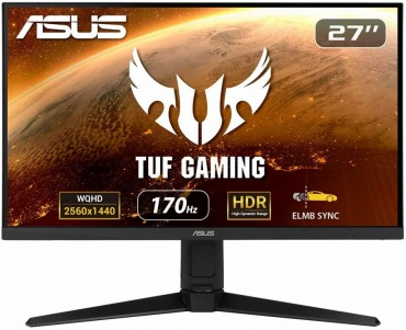 ASUS TUF Gaming ゲーミングモニター VG27AQL1A 27インチ WQHD PS5対応