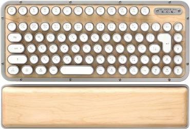 木製 タイプライター風キーボード