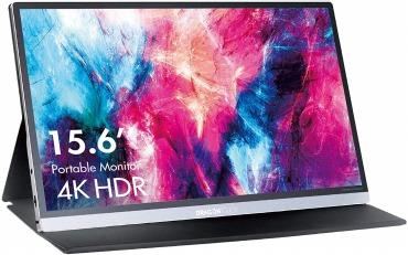 4K モバイルモニター スピーカー内蔵 Dragon Touch