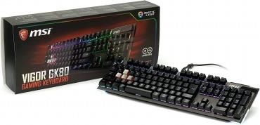 MSI Vigor GK80 CS JP ゲーミングキーボード KB425