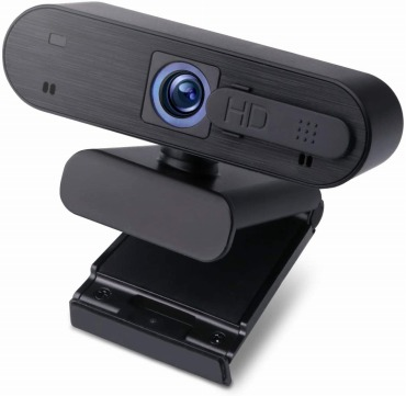 エレコム WEBカメラ マイク内蔵 200万画素 高解像度Full HD1920×1080ピクセル対応 オートフォーカス カメラシャッター付 ブラック WEBCAM-101BK