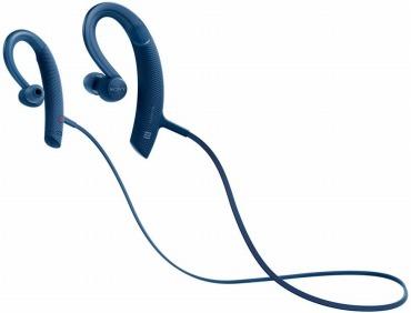 ソニー ワイヤレスイヤホン MDR-XB80BS : 防水/スポーツ向け Bluetooth対応 リモコン・マイク付き