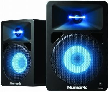 Numark アンプ内蔵 DJモニタースピーカー N-Wave 580L