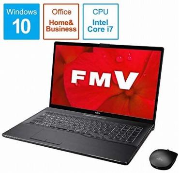 富士通 FMV LIFEBOOK NH90/D2- 17.3インチ ノートパソコン FMVN90D2B