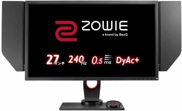 BenQ ゲーミングモニター ZOWIE XL2746S 27型/TN/240Hz