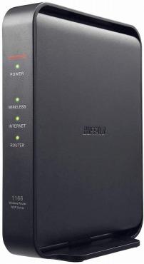 BUFFALO WiFi 無線LAN ルーター WSR-1166DHPL/N