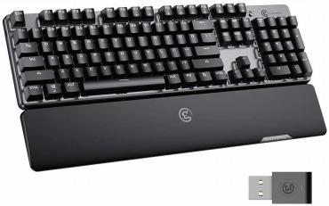 GameSir GK300 青軸メカニカルゲーミングキーボード