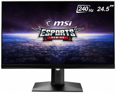 MSI 24.5インチ 240Hz ゲーミングモニター