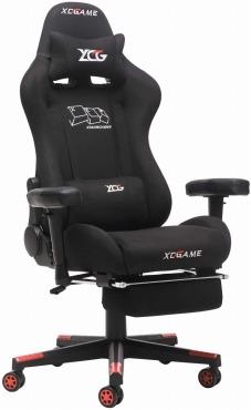 XCGAME ゲーミングチェア 通気性抜群 デスクチェア 180度チェア リクライニング マッサージ機能腰痛対策