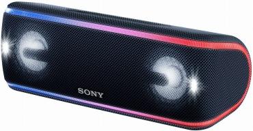 ソニー ワイヤレスポータブルスピーカー 重低音モデル SRS-XB41 : 防水・防塵・防錆/Bluetooth