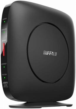 バッファロー WiFi ルーター 無線LAN Wi-Fi6 WSR-3200AX4S/NBK