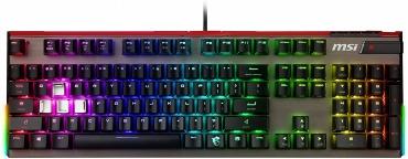 MSI Vigor GK80 CS JP ゲーミングキーボード KB425 銀軸