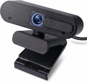 エレコム WEBカメラ マイク内蔵 200万画素 UCAM-C820ABBK