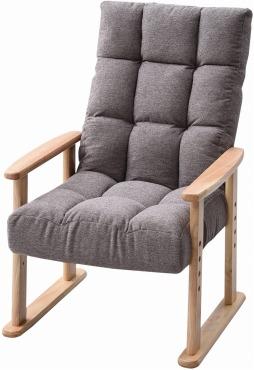 山善 高座椅子 リクライニング(背もたれ) 高脚