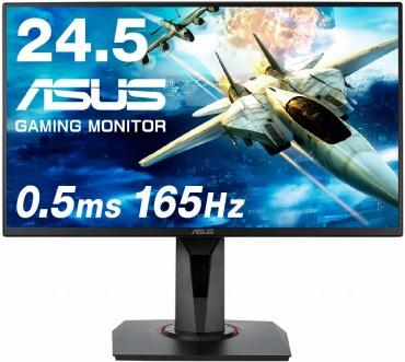 ASUSゲーミングモニター 24.5インチ VG258QR 0.5ms 165Hz