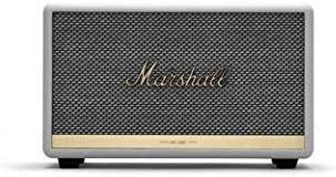 レトロでおしゃれな ワイヤレススピーカー Marshall ACTON II ホワイト